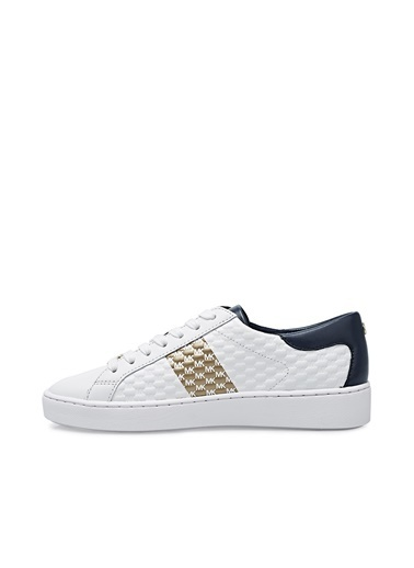 Michael Kors  Hakiki Deri Sneaker Ayakkabı Kadın Ayakkabı 43S1Cofs3L 406 Beyaz